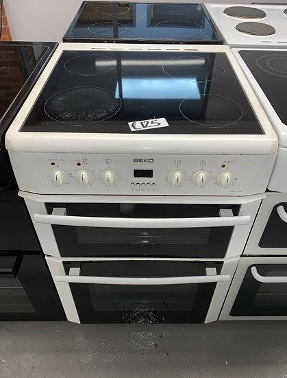 Beko DVC665W 60cm Electric Cooker - White