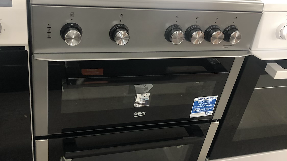 (879) Beko 60Cm Electric Cooker - XTC611