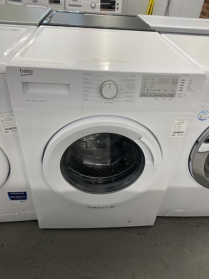 (226) Beko WTG941B4W Freestanding 9KG 1400 Spin Washing Machine