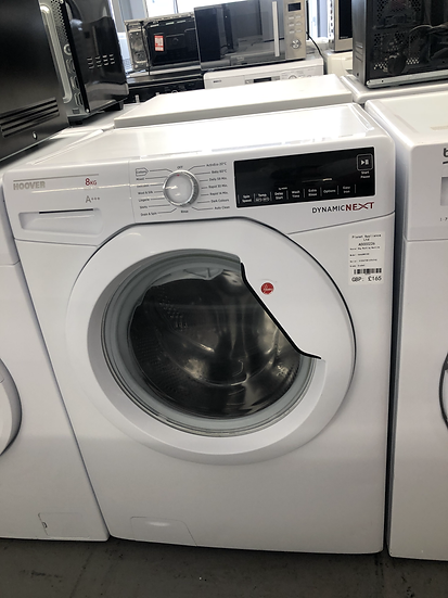 (657) Hoover 8kg Washing Machine - DXA68W3180