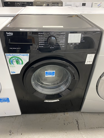 (227) Beko WTG820M1B 8kg 1200prm Freestanding Washing Machine - Black