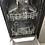 Thumbnail: (696) Hoover H-Dish Slimline Dishwasher - HDPH2D1049B- Black