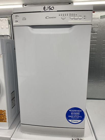 Candy CDP2L1049W Slimline Dishwasher - White *GRADED*
