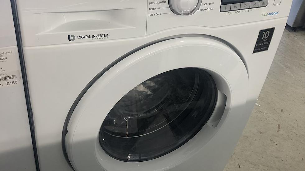 (971) Samsing 9Kg Washing Machine - WW90J5456MW/Eu