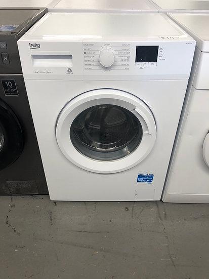 (181) BEKO 8KG washing Machine [WTB820E1W]