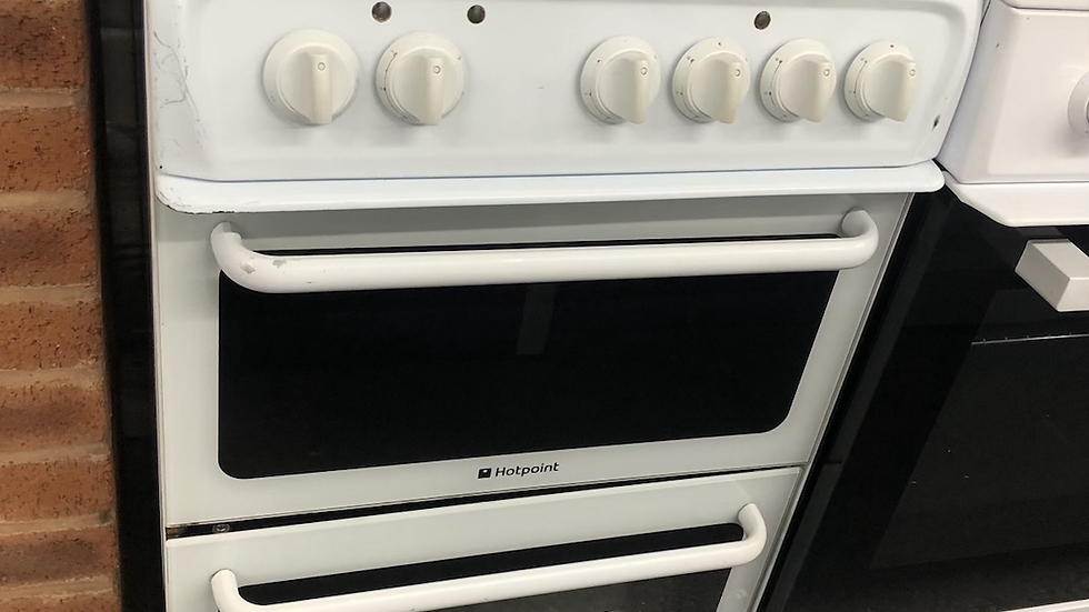 (141) Hotpoint 50cm Electric Cooker- HAE51P