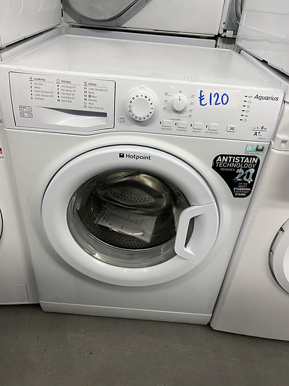 (189) HOTPOINT FREESTANDING FRONT LOADING WASHING MACHINE: 6KG