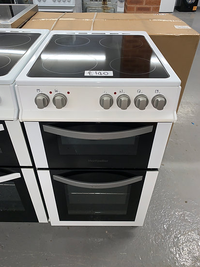 Montpellier MDC500FW 50cm Electric Cooker - White