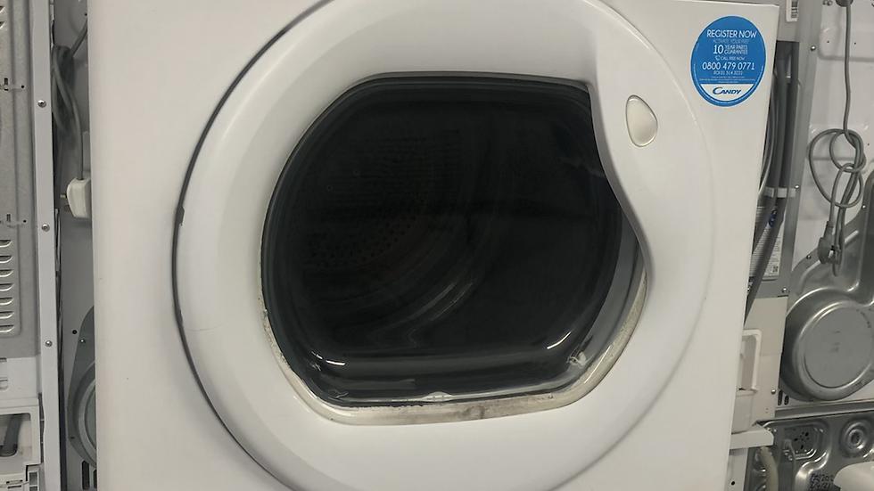 (086) Candy GCC591NB-80 Grand'O 9kg Freestanding Condenser Sensor Dryer White