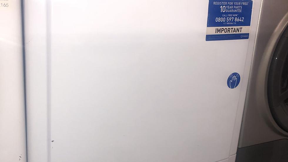 (017) Indesit IDC85 Condenser Tumble Dryer, 8kg Load, white