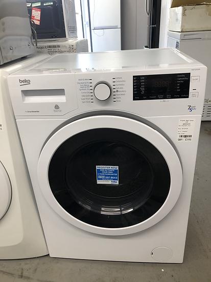 (654) Beko 7+5KG Washer Dryer - WDJ7523023W