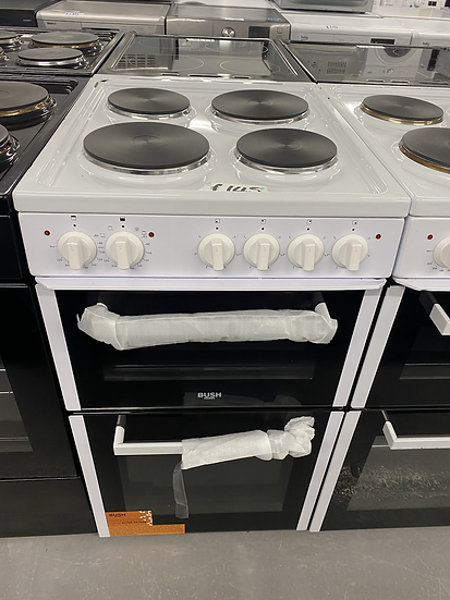 (70)Bush BETAW50W 50cm Twin Cavity Electric Cooker - White