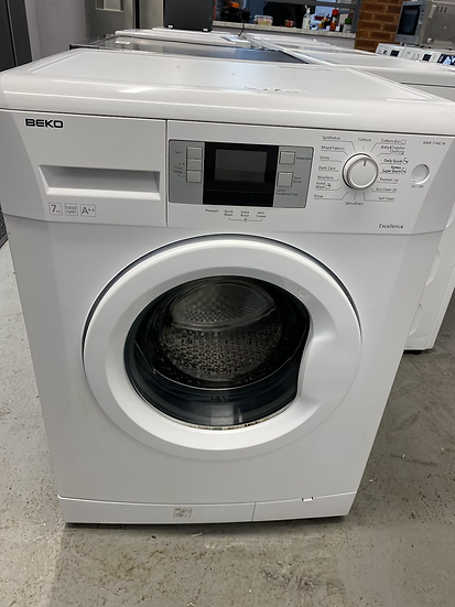 Beko WMB71442W Excellence 7kg 1400rpm Freestanding Washing Machine - White
