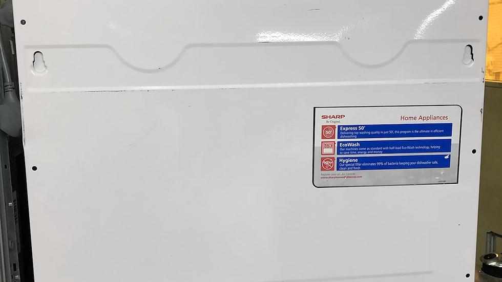 (846) Sharp Integrated Dishwasher - QW-D22I492X-En