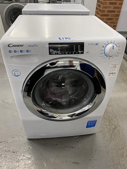 (198) Candy Smart Pro CSO14103TWCE-80 Freestanding 10KG 1400 Spin Washing Machin