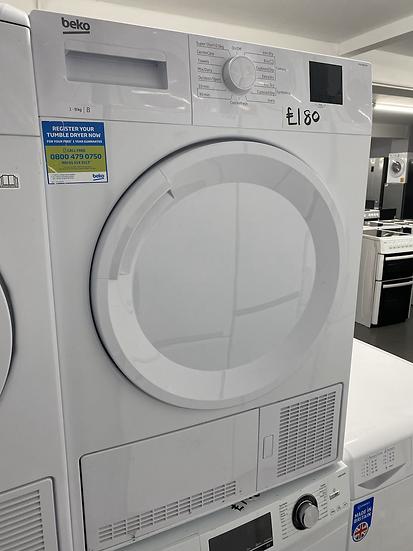 BEKO DTKCE90021W 9 kg Condenser Tumble Dryer - White