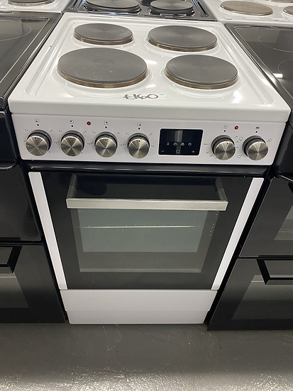 (047) New World NWLS50SEW 50cm Single Electric Cooker - White