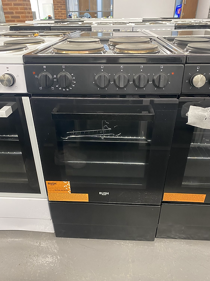 Bush BESAW50B 50cm Single Electric Cooker - Black *GRADED*