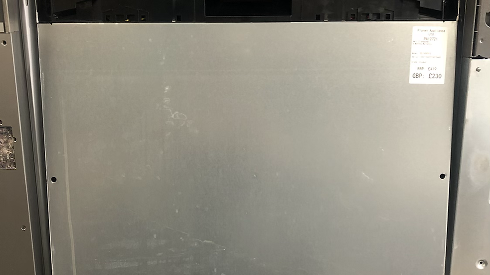 (033) NEFF N50 S513G60X0G Fully Integrated Standard Dishwasher - Black Control P