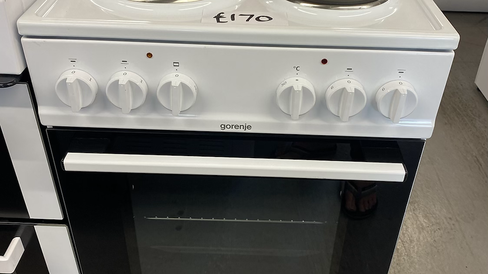 (570) GORENJE E5111WG Electric Cooker – White– A Rated
