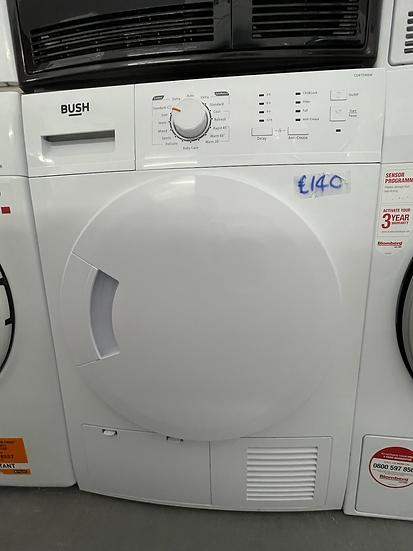 (103) Bush CD8TDNSW 8KG Condenser Tumble Dryer - White
