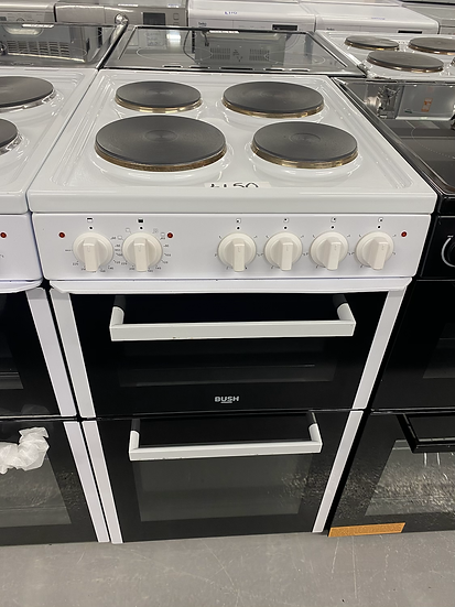 (71)Bush BETAW50W 50cm Twin Cavity Electric Cooker - White