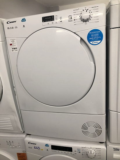 (557) Candy Smart CSC10DF 10Kg Condenser Tumble Dryer - White - B Rated