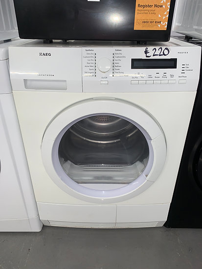 AEG  Condenser Dryer - White
