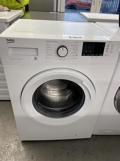 BEKO WTB741R2W 7 kg 1400 Spin Washing Machine - White *GRADED*