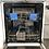 Thumbnail: (666) Hisense HS60240WUK Standard Dishwasher - White - E Rated