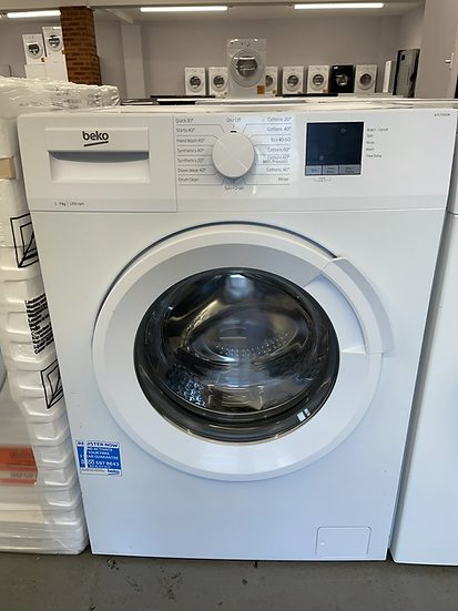 (481)Beko WTL72051W 7kg 1200rpm Freestanding Washing Machine - White
