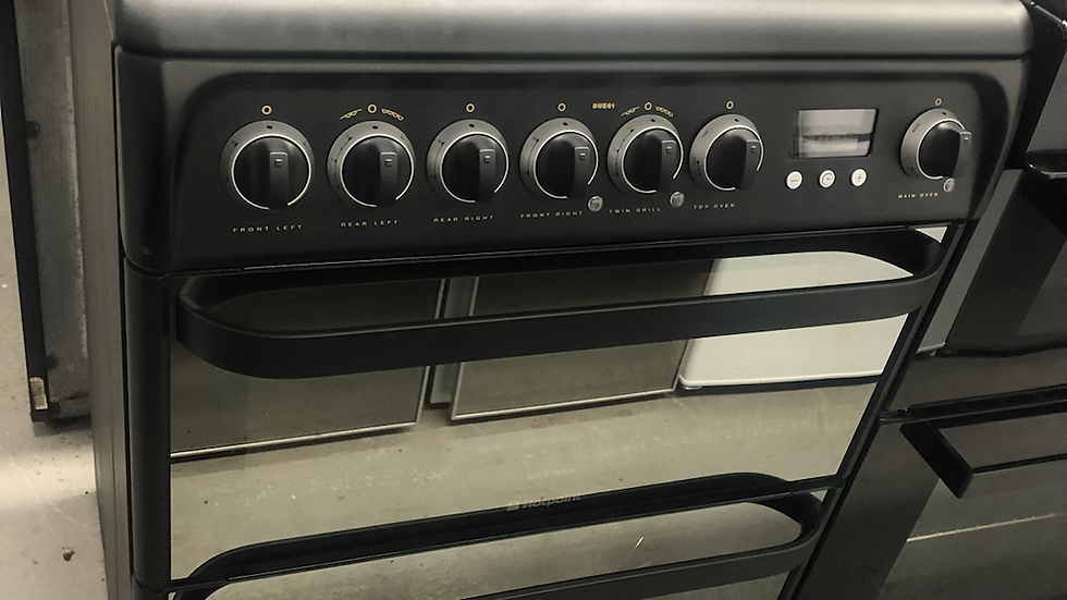 (829) Hotpoint 60cm Electric Cooker - DUE61BC