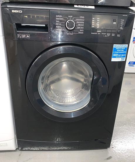 Beko WMB71233B 7kg Washing Machine - Black