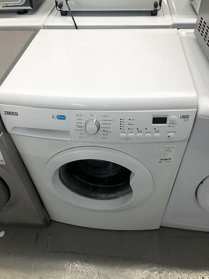 (533) Zanussi ZWF81441W Freestanding Washing Machine, 8kg Load, 1400rpm Spin, Wh