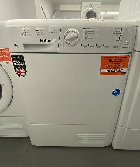Hotpoint TCHL870BP 8Kg Condenser Tumble Dryer - White *GRADED*