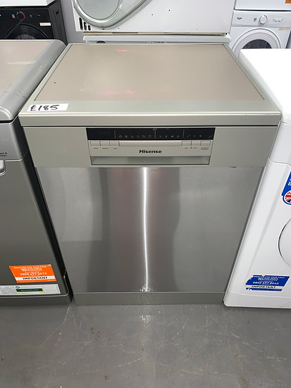 Hisense HS60240XUK Standard Dishwasher - Stainless Steel - A++ Rated