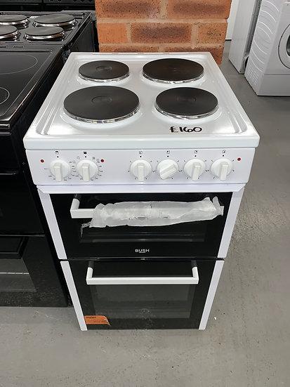 Bush BETAW50W 50cm Twin Cavity Electric Cooker - White *GRADED*