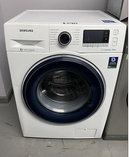 SAMSUNG ecobubble WW90J5456FW/EU 9 kg 1400 Spin Washing Machine - White *GRADED*