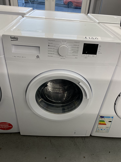 BEKO WTB720E1W 7 kg 1200 Spin Washing Machine - White *GRADED*