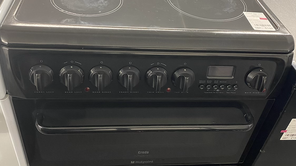 (902) HOTPOINT 60cm freestanding electric cooker