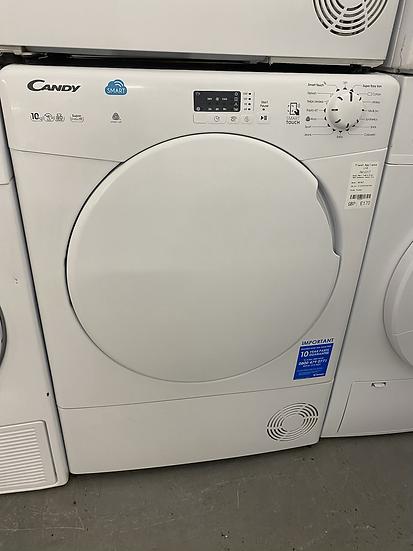 (219) Candy CSC10LF 10KG Sensor Dry Condenser Tumble Dryer - White