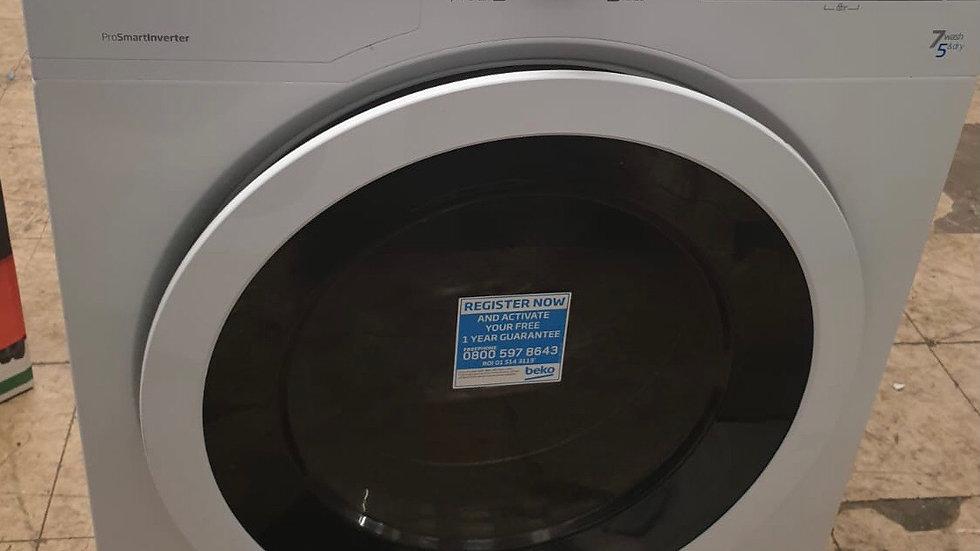 (872) Beko 7+5KG Washer Dryer - WDR7543121W