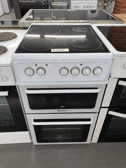 Hotpoint 52TCW - 50cm Electric Cooker - White