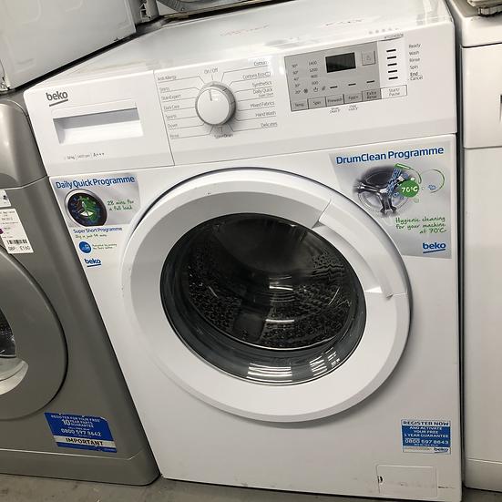 (665) Beko 10kg Washing Machine - WTG1041B2W