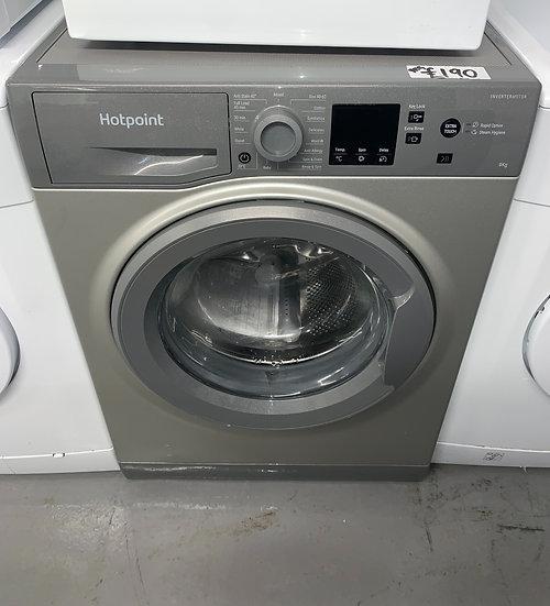 Hotpoint NSWM943CGG 9KG Washing Machine - Graphite