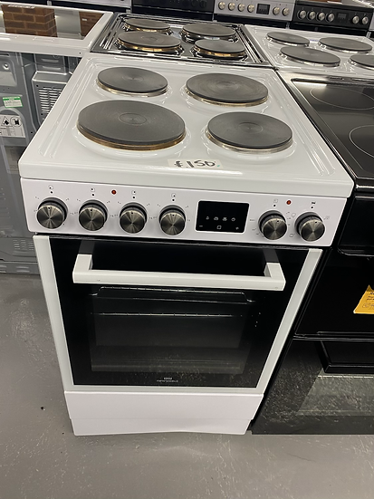 (052) New World NWLS50SEW 50cm Single Electric Cooker - White