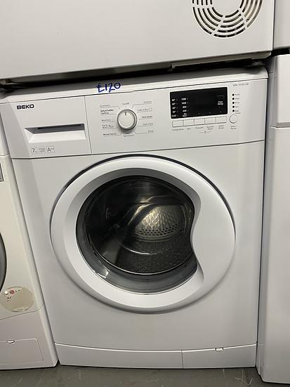 (187) BEKO WM74155LW Freestanding 7kg 1500rpm Washing Machine