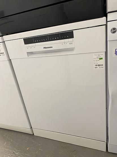 (379) Hisense HS60240WUK Standard Dishwasher - White