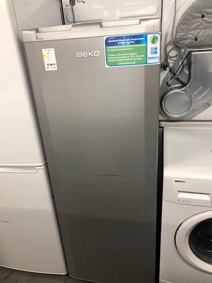 (610) Beko Silver Freezer TZZA503W