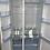 Thumbnail: Fridgemaster MS91518FFS Side-by-side American Fridge Freezer - Stainless